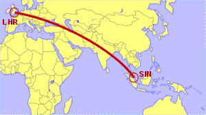 London Heathrow to Singapore - Direct Flight Options Compared