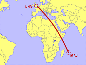 London Heathrow To Mauritius Direct Flight Options Compared